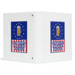 Red White And Blue Brewer 3 Ring Binders