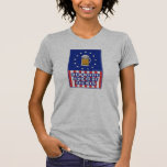 Red White And Blue Brewer T Shirt