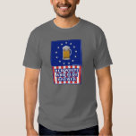 Red White And Blue Brewer Tee Shirt