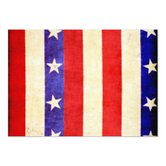 Red, White and Blue Card