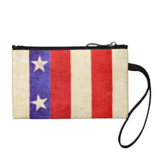 Red, White and Blue Change Purse