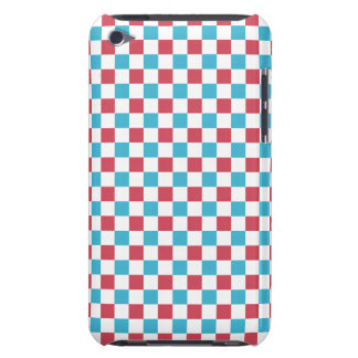 Red, White, and Blue Checkered iPod Touch Case-Mate Case
