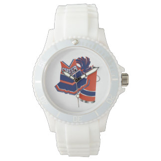 Red White and Blue Cheer Wrist Watch
