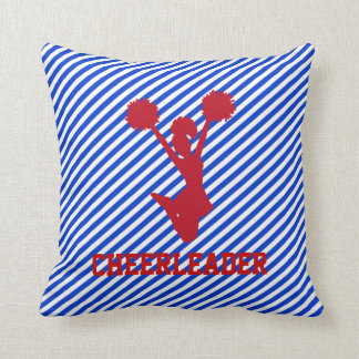 Red, White, and Blue Cheerleader Pillow