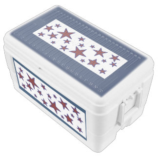 Red, White and Blue Chest Cooler