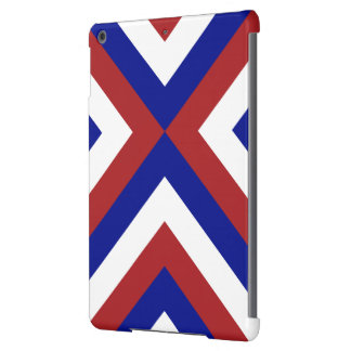 Red, White, and Blue Chevrons iPad Air Case