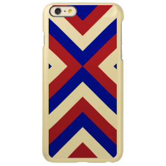 Red, White, and Blue Chevrons Incipio Feather® Shine iPhone 6 Plus Case