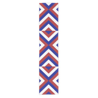 Red, White, and Blue Chevrons Table Runner
