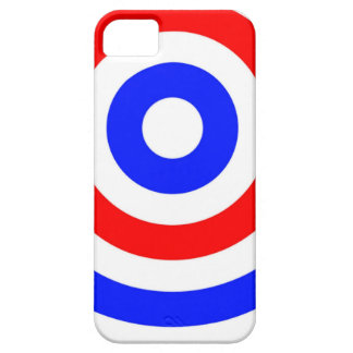 Red, white and blue circles iPhone SE/5/5s case