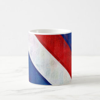 Red, White and Blue Coffee Mug