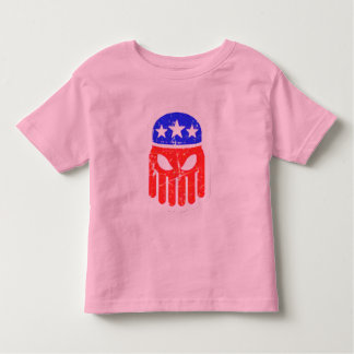 Red, White and Blue Cthulhu Toddler T-shirt