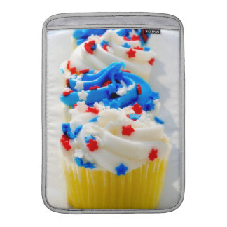 Red White and Blue Cupcakes MacBook Air Sleeve