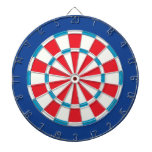 Red White And Blue Dart Board
