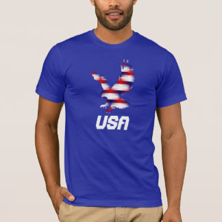 Red White and Blue Eagle T-Shirt