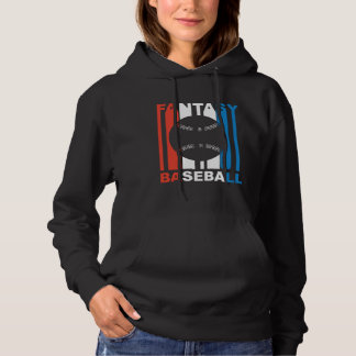 Red White And Blue Fantasy Baseball Hoodie