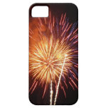 Red, White and Blue Fireworks I Patriotic iPhone SE/5/5s Case