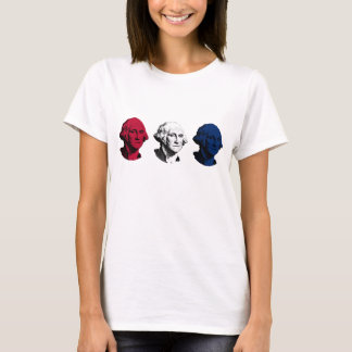 Red, White, and Blue George Washington T-Shirt