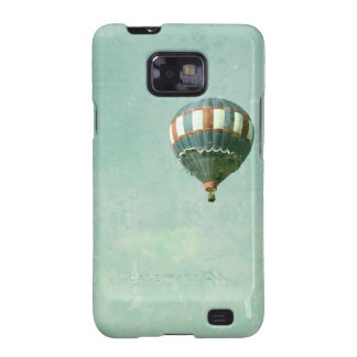 Red White and Blue Hot Air Balloon Samsung Galaxy SII Covers
