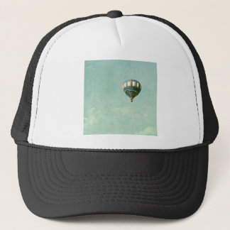 Red White and Blue Hot Air Balloon Trucker Hat