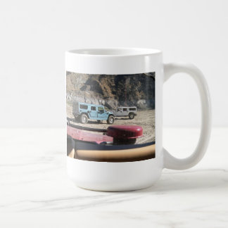 Red, White and Blue Hummer H1's Coffee Mug
