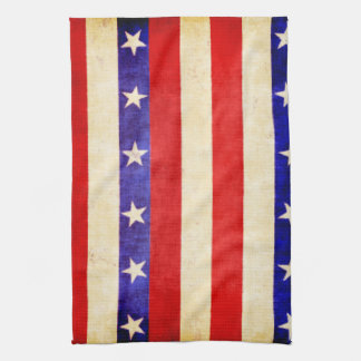 Red, White and Blue Towels