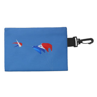 Red, White, And Blue Kite Accessories Bags