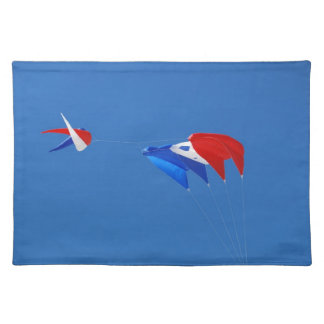 Red, White, And Blue Kite Cloth Placemat
