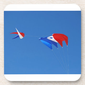 Red, White, And Blue Kite Drink Coaster