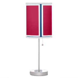 Red White and Blue Lamp
