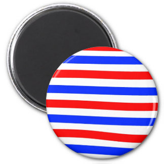 Red white and blue magnet