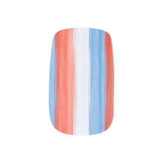 Red White and Blue Nails Minx® Nail Wraps