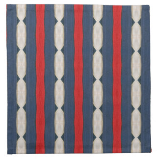 Red, White and Blue Napkins