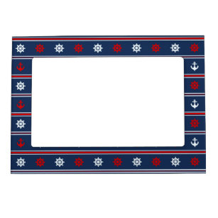Red White And Blue Picture Frames Zazzle