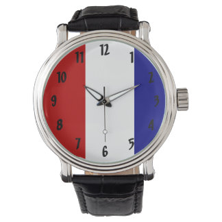 Red White and Blue Patriotic Watch
