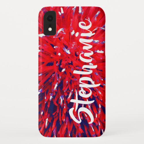 Red White and Blue Personalized iPhone XR, XS, XS iPhone XR Case