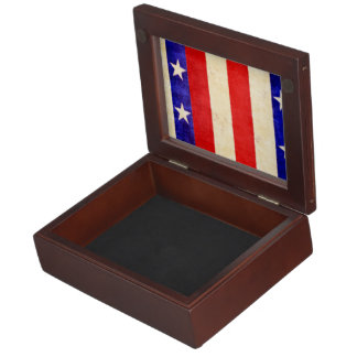 Red, White and Blue Keepsake Boxes