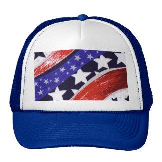 Red,White and Blue Pride Trucker Hat