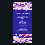 """red white and blue rack card<br><div class=""""desc"""">Red white and blue patriotic abstract design on letterhead stationery invitations rackcards and flyers</div>"""