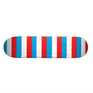 Red, White and Blue Skateboard