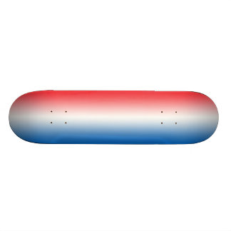 Red White And Blue Skateboard