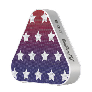Red, White and Blue Star Pattern Speaker