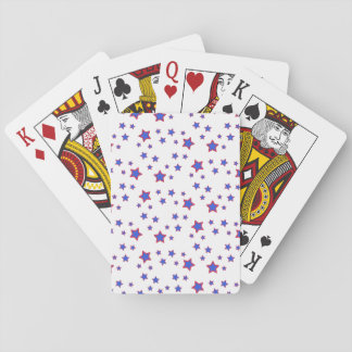 Red, White, and Blue Stars Deck Of Cards