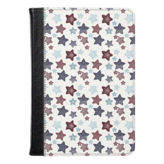Red White and Blue Stars Kindle Case
