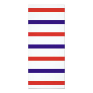 Red White and Blue Stripes Card