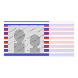 Red, White and Blue Stripes. Card