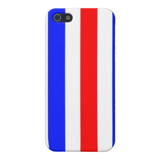 Red, white and blue stripes case for iPhone SE/5/5s