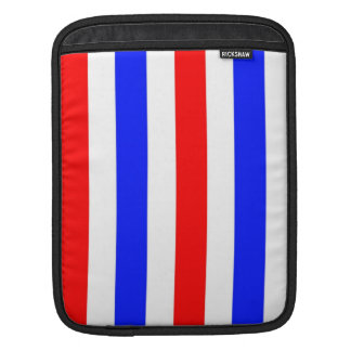 Red white and blue stripes sleeves for iPads