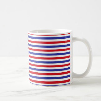 Red, White and Blue Stripes Mug