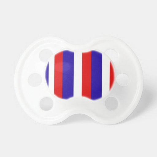 Red, White, and Blue Stripes Pacifiers