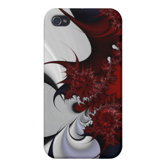 red white and blue thorns i iPhone 4 cover